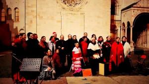 coro piazza duomo 2014